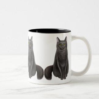 Lucky Black Cats Mug