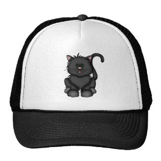 Lucky Black Halloween Cat Cap
