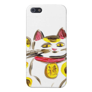 Lucky Cat iPhone 5 Cover