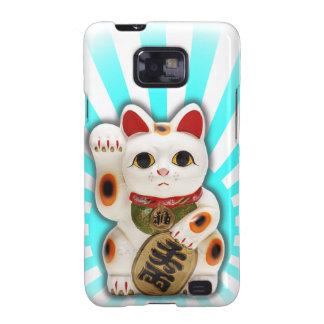Lucky Cat Maneki-neko Galaxy SII Cover