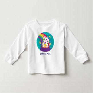 Lucky Cat Maneki Neko Good Luck Pot of Gold Toddler T-Shirt