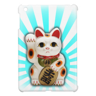 Lucky Cat (Maneki-neko) iPad Mini Cases