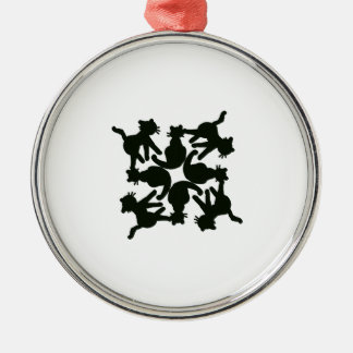 lucky cat pattern,cat picture art christmas ornament