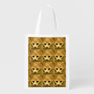 Lucky Cat Reusable Grocery Bag