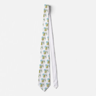 Lucky Cat Year of the Monkey Tie