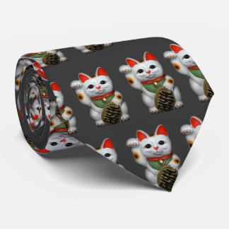 Lucky Cats Tie