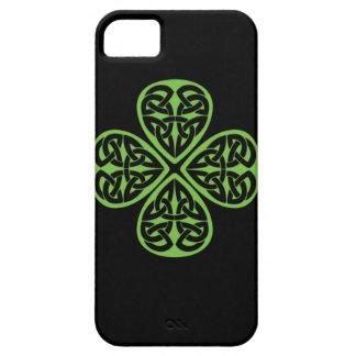 Lucky Celtic Design 4 leaf shamrock iphone4 iPhone 5 Cover
