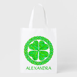 Lucky Celtic Shamrock Personalized Eco Friendly