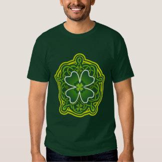 Lucky Celtic Shamrock Tee Shirt