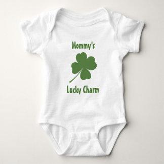 Lucky Charm 4-Leaf Clover Baby Bodysuit