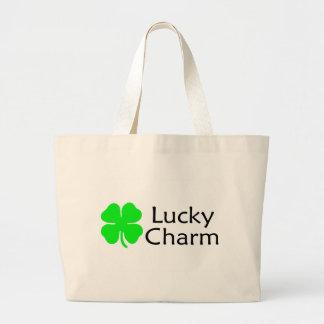 Lucky Charm 4 Leaf Clover Bag