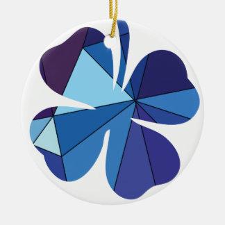 Lucky charm Circle Ornament