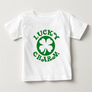 Lucky Charm Green/White Circle Baby T-Shirt