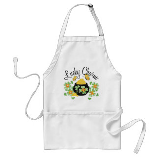 Lucky Charm Pot of Gold Standard Apron