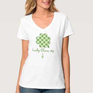 Lucky Charm Pregnancy Reveal T-Shirt