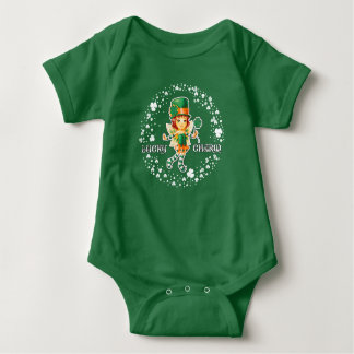 Lucky Charm. St. Patrick's Day Baby Bodysuit