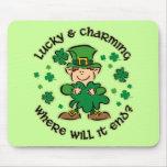 Lucky & Charming Kids Mousepad