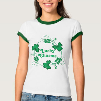 Lucky Charms Trinity Clovers T-shirts