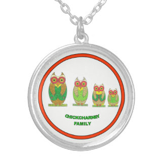 Lucky Chickcharnie Family necklace