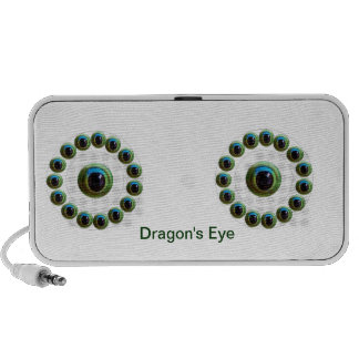 Lucky Chinese Dragon's Eye - WILL KILL EVIL PC Speakers