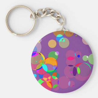 Lucky circles keychains