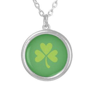 Lucky Clover St. Patrick's Day Shamrock Necklace