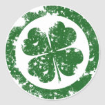 Lucky Clover Stickers