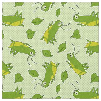 Lucky Cricket Pattern Fabric