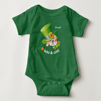 Lucky & Cute St. Patrick's Day Baby Bodysuits