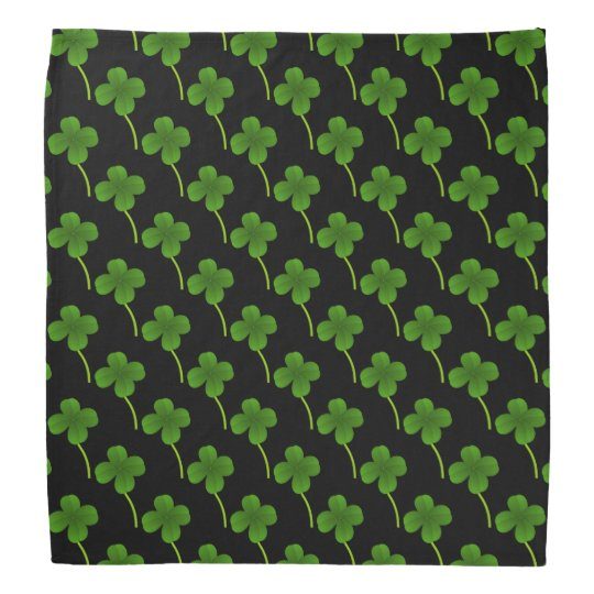 Lucky Day Four Leaf Clovers Kerchiefs