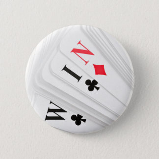 Lucky deal. 6 cm round badge