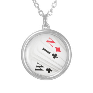 Lucky deal. silver plated necklace