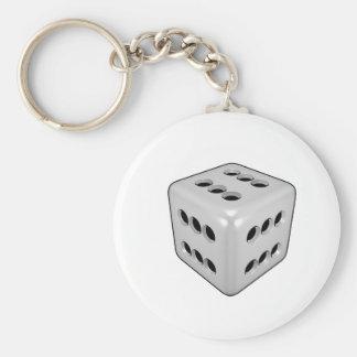 Lucky Dice Key Ring