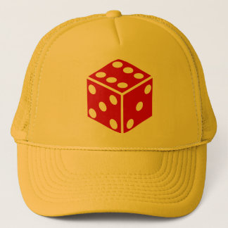 lucky dice trucker hat