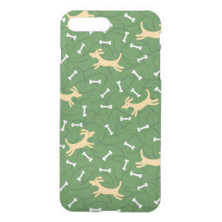 lucky dogs with bones background iPhone 8 plus/7 plus case