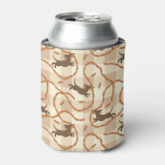 lucky dogs with sausages background can cooler