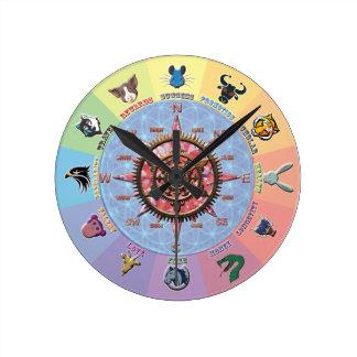 Lucky Dozen Wall Clocks