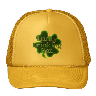 Lucky Drinking Hat Mesh Hats