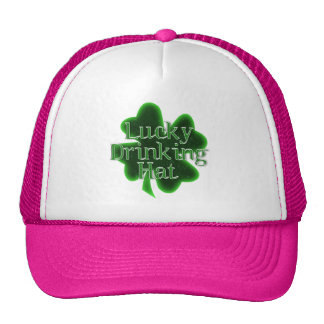 Lucky Drinking Hat Hats
