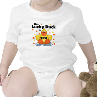 Lucky Duck 1st Birthday T-shirts and Gifts