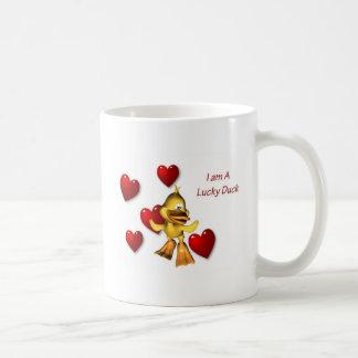 Lucky Duck Love Mug