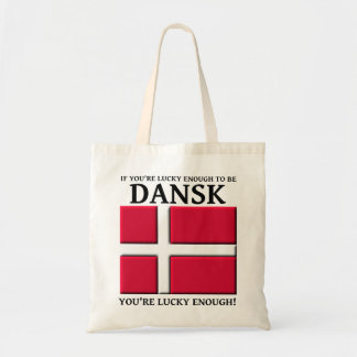Lucky Enough To Be Dansk Danish Bag Tote