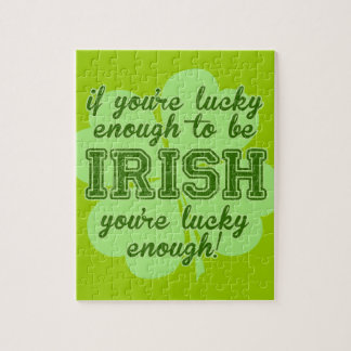 Lucky Enough to be Irish Puzzle