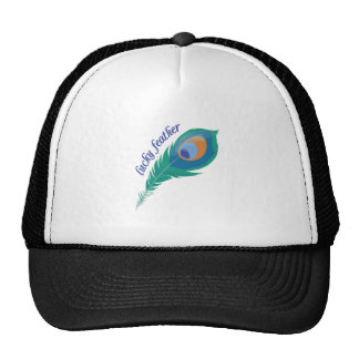 Lucky Feather Trucker Hat