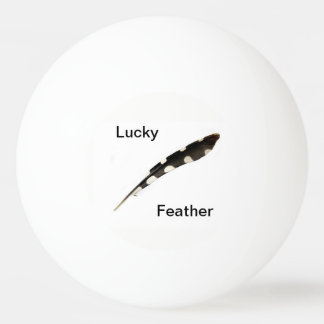 Lucky Feather Ping Pong Ball