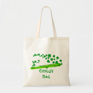 Lucky Flute Budget Tote Bag