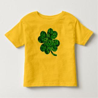 Lucky Four Leaf Clover Art Toddler T-Shirt