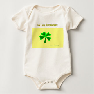 lucky four-leaf clover (LFLC) Baby Bodysuit