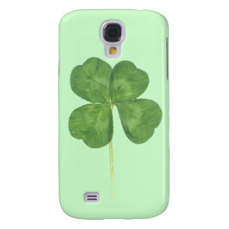 Lucky Four-Leaf Clover Shamrock iPhone 3 3G Case Galaxy S4 Case