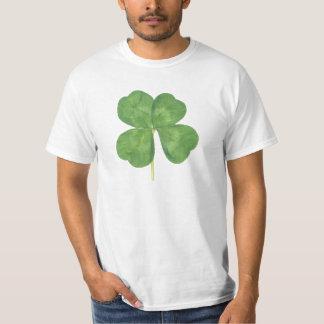 Lucky Four-Leaf Clover Shamrock T-shirt